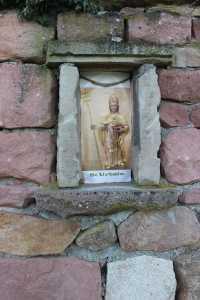 St. Urbain beschützt diesen Weinberg