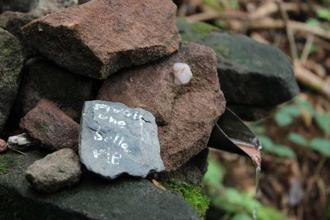 Kleiner Stein, große Worte