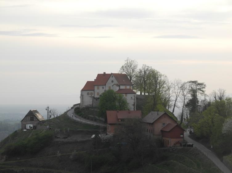 Einer seiner Lieblingsplätze: Schloss Staufenberg ?