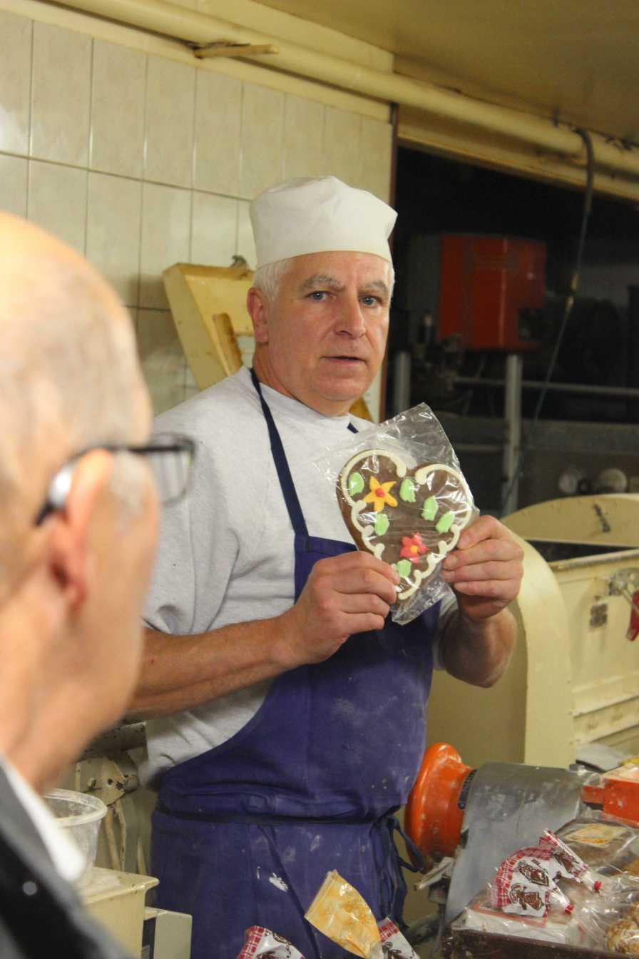 Michel Habsiger hat ein Herz für Honigkuchen