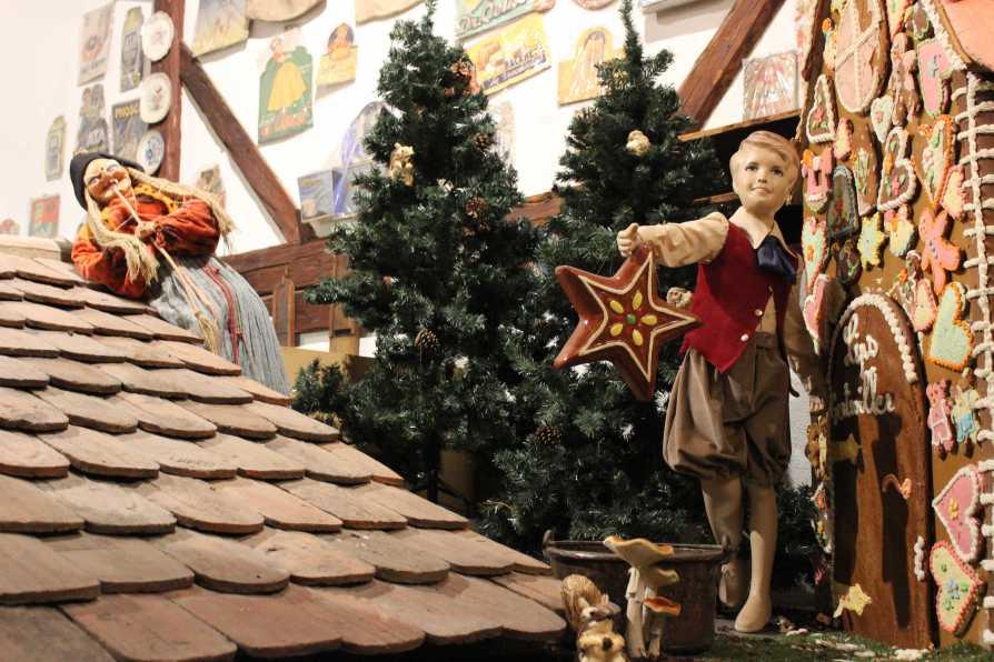 Lebkuchenhaus à la Grimm