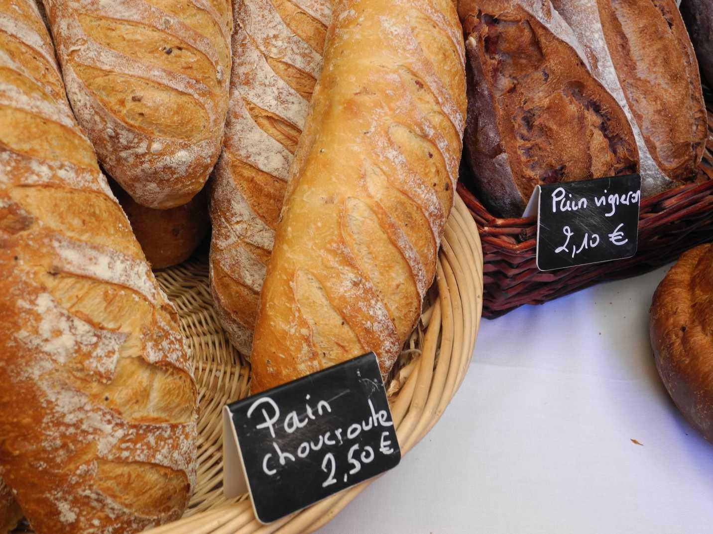 Typisch Elsass: Sauerkraut geht immer