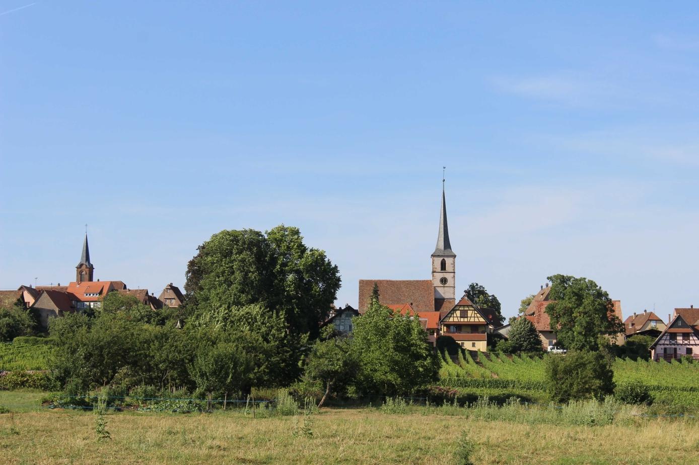 Mittelbergheim zählt zu Frankreichs schönsen Dörfern