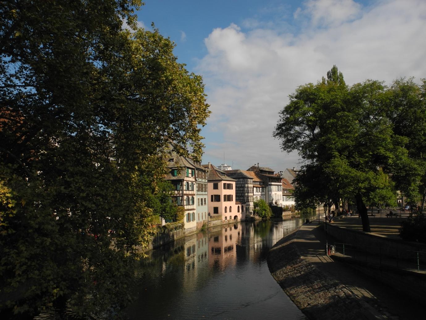 Postkarte aus dem Straßburger Gerberviertel