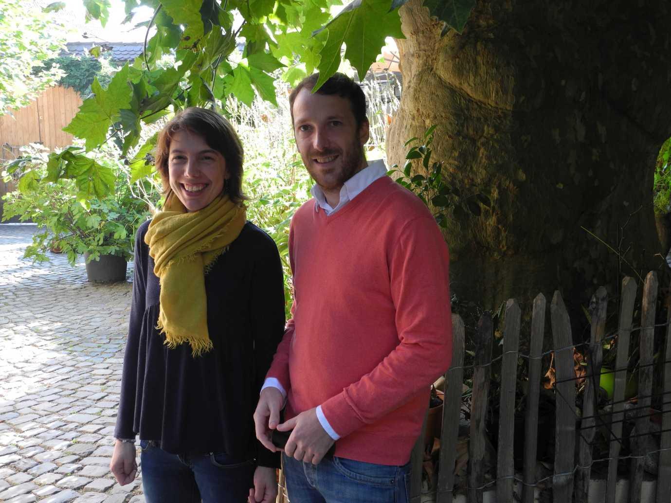 Christelle Hubsch und Jean Wagner