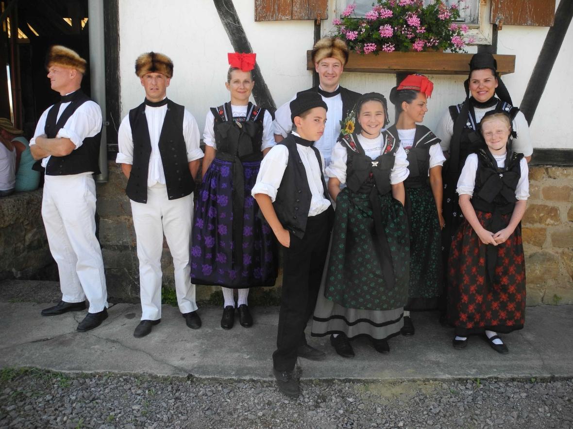 Die Tradtion lebt: Groupe folklorique de Seebach