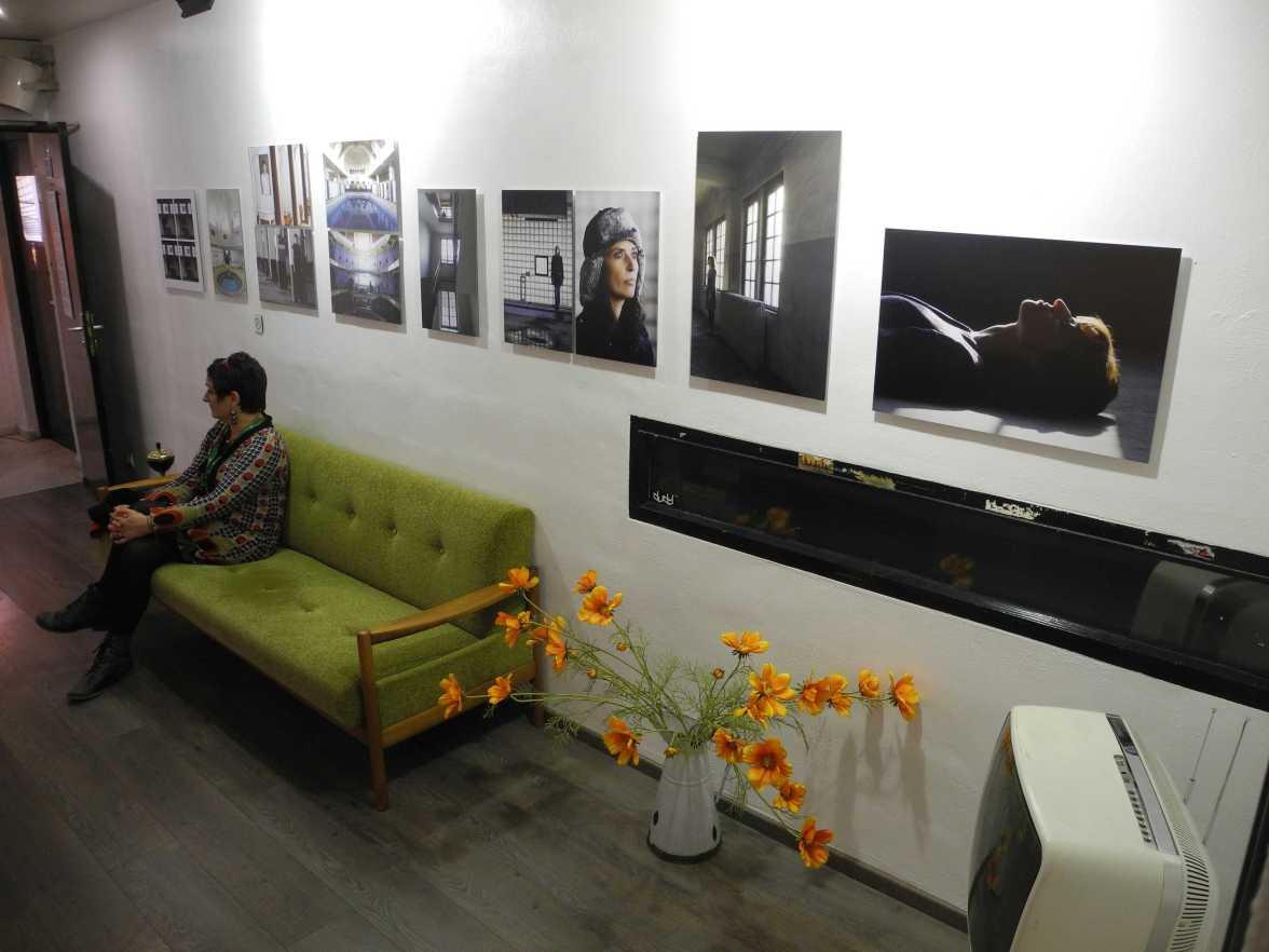 Inszenierte (T)Räume, La Laiterie backstage mit Fotos von und mit Nathalie Fritz