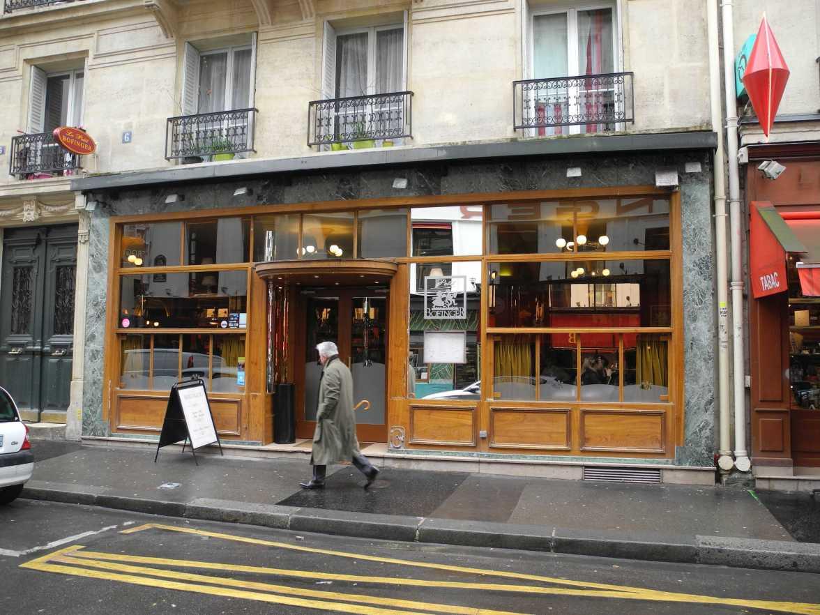 Le Petit Bofinger in der Rue de la Bastille
